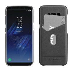 Protective Shell with Card Slot for Samsung S8 - Black