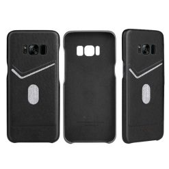 Protective Shell with Card Slot for Samsung S8 Plus - Black