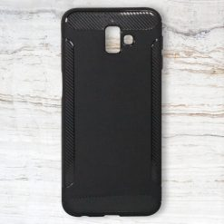 Fashion Case Protective Shell for Samsung J6 Plus – Black