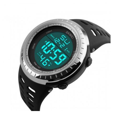 50m Waterproof Digital Sports Watch - Black