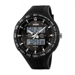 30M Waterproof Dual Mode Watch - Black