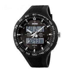 30M Waterproof Dual Mode Watch - Black