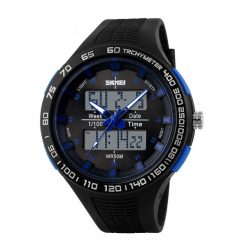 30M Waterproof Dual Mode Watch - Blue
