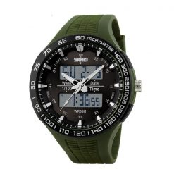 30M Waterproof Dual Mode Watch - Green