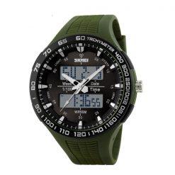 30M Waterproof Dual Mode Watch - Green