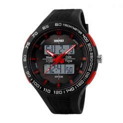 30M Waterproof Dual Mode Watch - Red