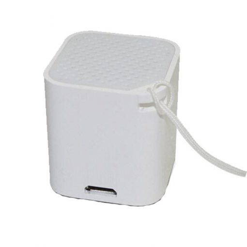 3 in 1 Smart Micro Bluetooth Speaker With Shutter and Anti lost Function - White