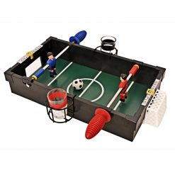Boozeball Penalty Shots Table Football Drinking Game - Black