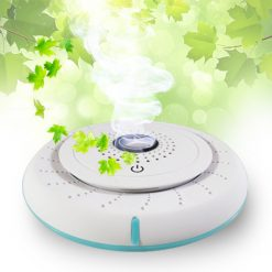 Car Solar Anion Air Purifier - White