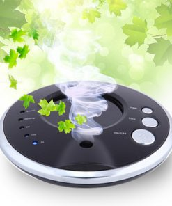 Car Solar Anion Air Purifier - Black