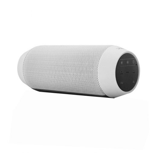 AEC Adjustable Light Color Bluetooth Speaker With MP3 Player And FM Radio – White