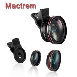 Mactrem Universal Professional HD Camera Lens Kit - Black