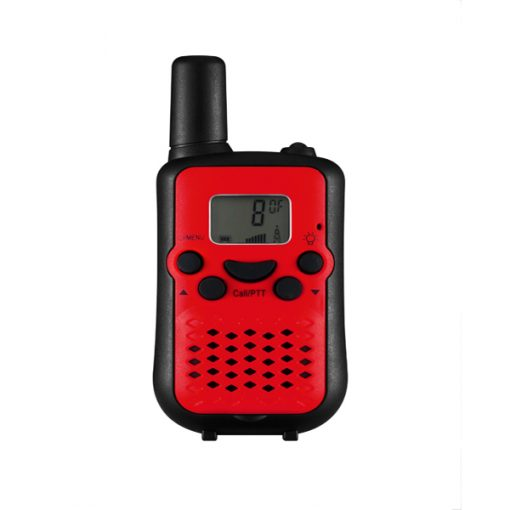 5KM Nonradiative Small Easy to Carry Pocket Digital Walkie Talkie - Red/Black