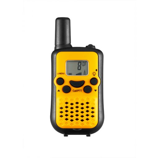 5KM Nonradiative Small Easy to Carry Pocket Digital Walkie Talkie - Yellow/Black
