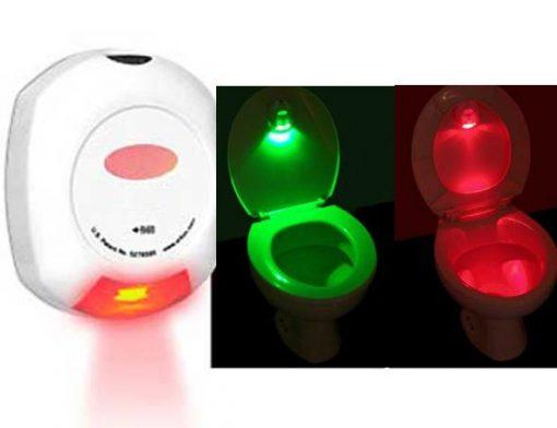 Motion Sensor Toilet Bowl Light