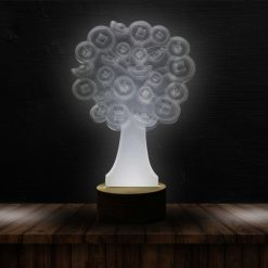 3D LED Light Tree Shaped Table Lamp