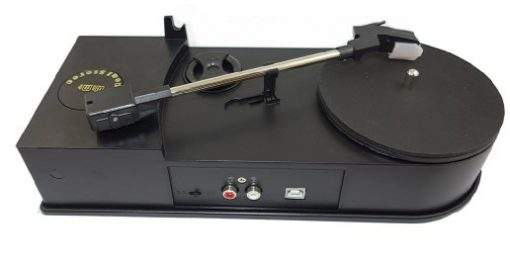 Portable USB Vinyl Turntable Audio Player To MP3 Converter