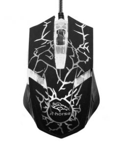 3200 DPI Wired Gaming Mouse - White