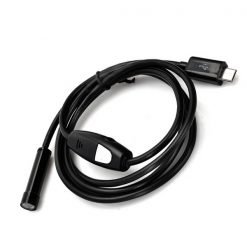 3 Meters Waterproof Micro USB Soft Cable Endoscope - Black