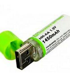 1450 mah AA USB Rechargeable Battery