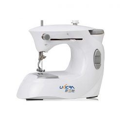 Portable Double Thread Sewing Machine - Grey