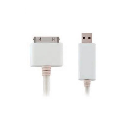 30 Pin Charger Cable For IPhone, IPod And IPad - White