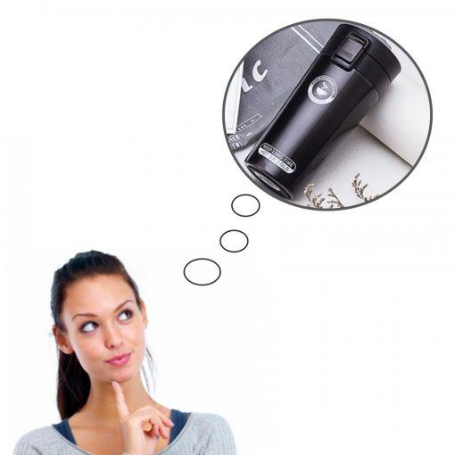 400 ml Thermos Vacuum Insulated Tumbler - Black