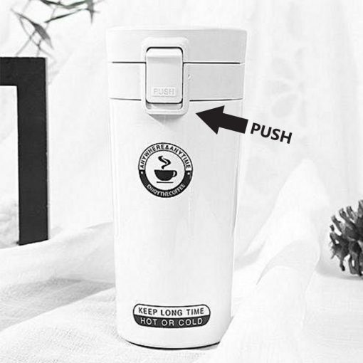 400 ml Thermos Vacuum Insulated Tumbler - White