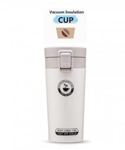 400 ml Thermos Vacuum Insulated Tumbler - White