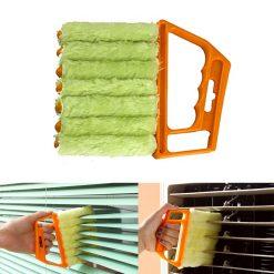 Microfiber Blind Duster Brush - Orange