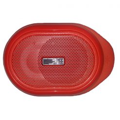 Pocket Water Resistant Bluetooth Speaker - Red
