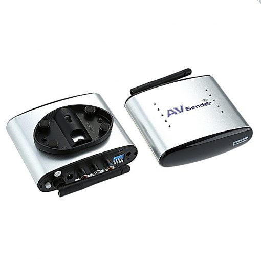 2.4Ghz Wireless AV Transmitter and Receiver - Silver