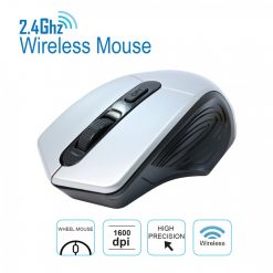 2.4 Ghz  1600 DPI Wireless Mouse  - Gray