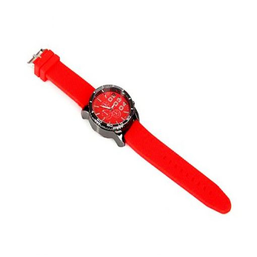 Men Stainless Sport Watch - Red