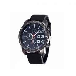 Men Stainless Sport Watch - Black
