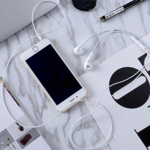 3.5mm XO S8 High Fidelity Sound Earphones - White
