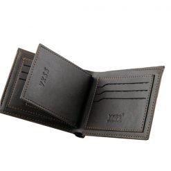 Leather Men Wallet With SIM Card Holder - Brown