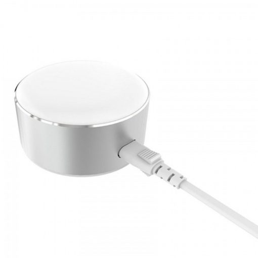 LDNIO Creative LED Touch Lamp 2 Port Charging Station - Silver