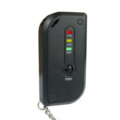 Keychain LED Alcohol Tester