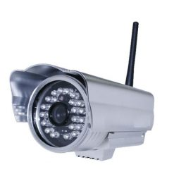 Outdoor MJPEG IP Camera - Silver