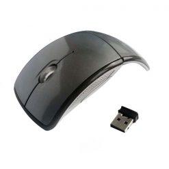 2.4GHz Wireless Folding Arc Mouse - Black