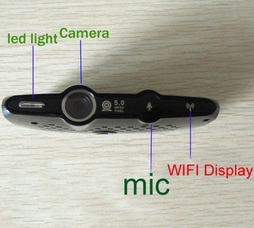 Android Smart TV Box Built in 5.0MP Web Camera, Internet TV Box 1GB/8GB Dual Core Mini PC