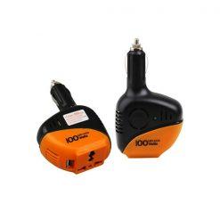 Aukson 100W Power Inverter - Orange/Black