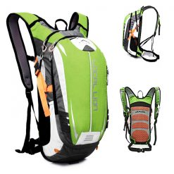LOCAL LION Outdoor Cycling/Travelling Backpack - Green/Grey