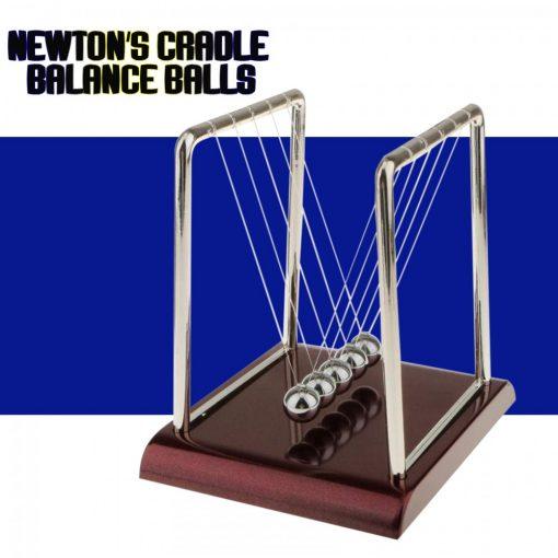 Newton's Cradle Balance Balls - Silver