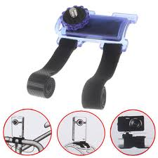 Bicycle pod Action Mount for Camera Camcorder - Blue
