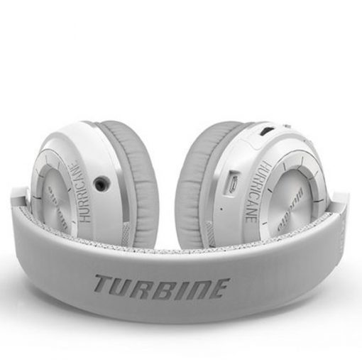 Bluedio Turbine T2 Bluetooth 4.1 Foldable Headphone Headset - White