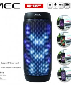 AEC Bluetooth Speaker With NFC MP3 And FM Radio BQ-615PRO - Black