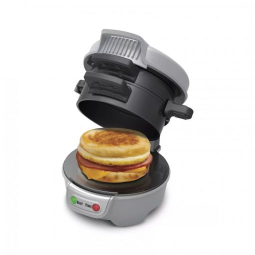 Breakfast Sandwich Maker- Black