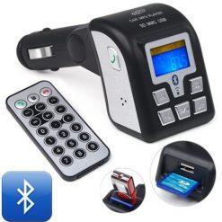 Car Bluetooth and MP3 Wireless FM Modulator